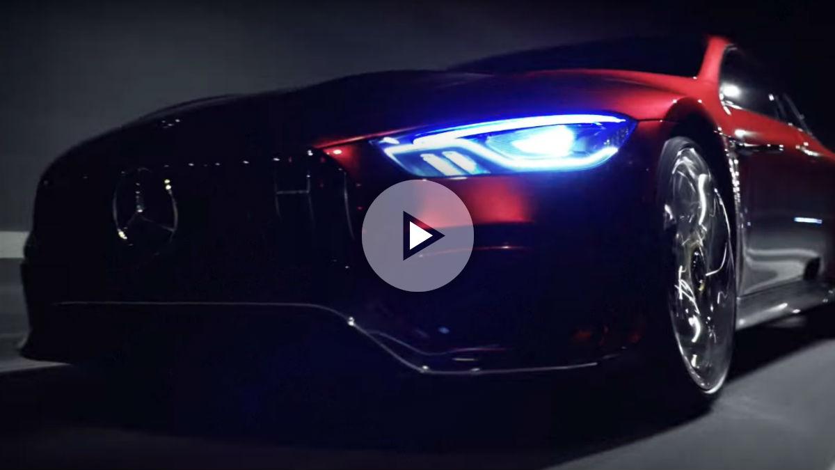 El Mercedes-AMG GT Concept se muestra en todo su esplendor en este vídeo difundido por la marca de la estrella.