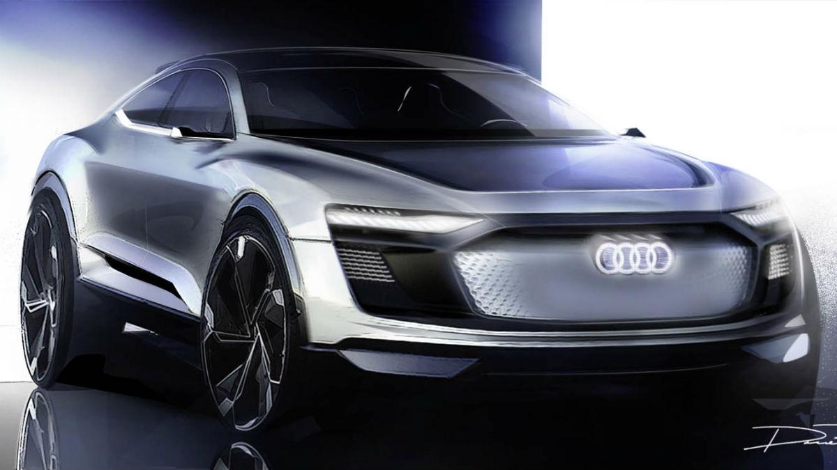El nuevo Audi e-tron Sportback Concept promete ser una de las presentaciones más espectaculares de todas cuantas se produzcan en el Salón de Shanghai.