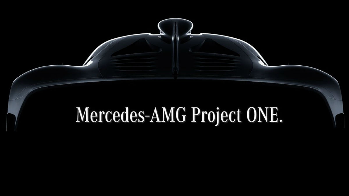 El Mercedes-AMG Project One es la bomba de la marca alemana para el Salón de Frankfurt, con tecnología directamente derivada de la Fórmula 1.