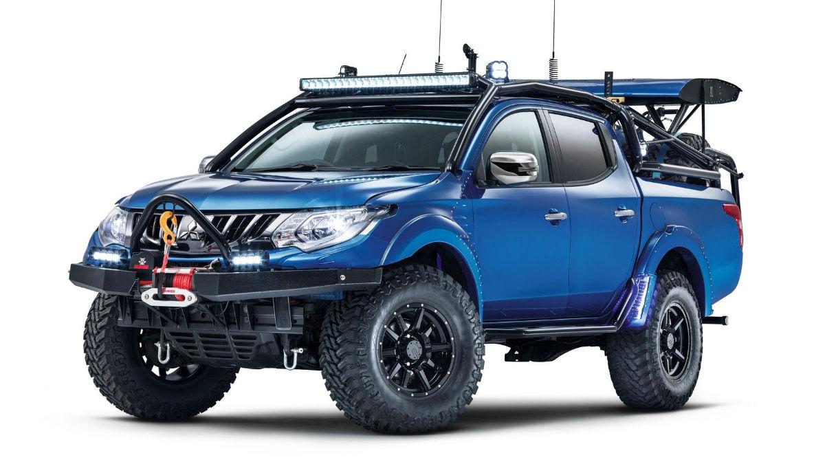 El nuevo Mitsubishi L200 Desert Warrior nace de la colaboración de la división inglesa de la marca con la revista Top Gear.
