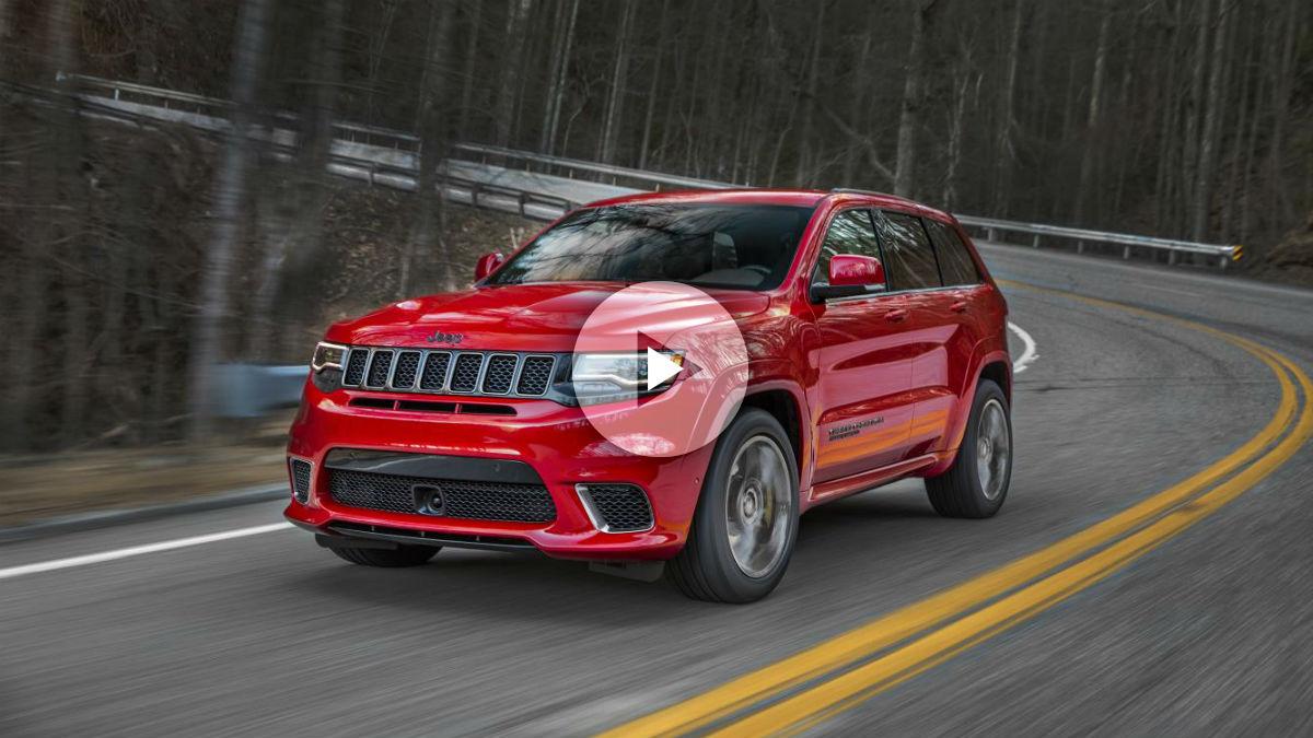 El Jeep Grand Cherokee Trackhawk puede presumir, además de ser el SUV más potente de siempre, de acelerar más rápido que algunos de los deportivos más famosos.