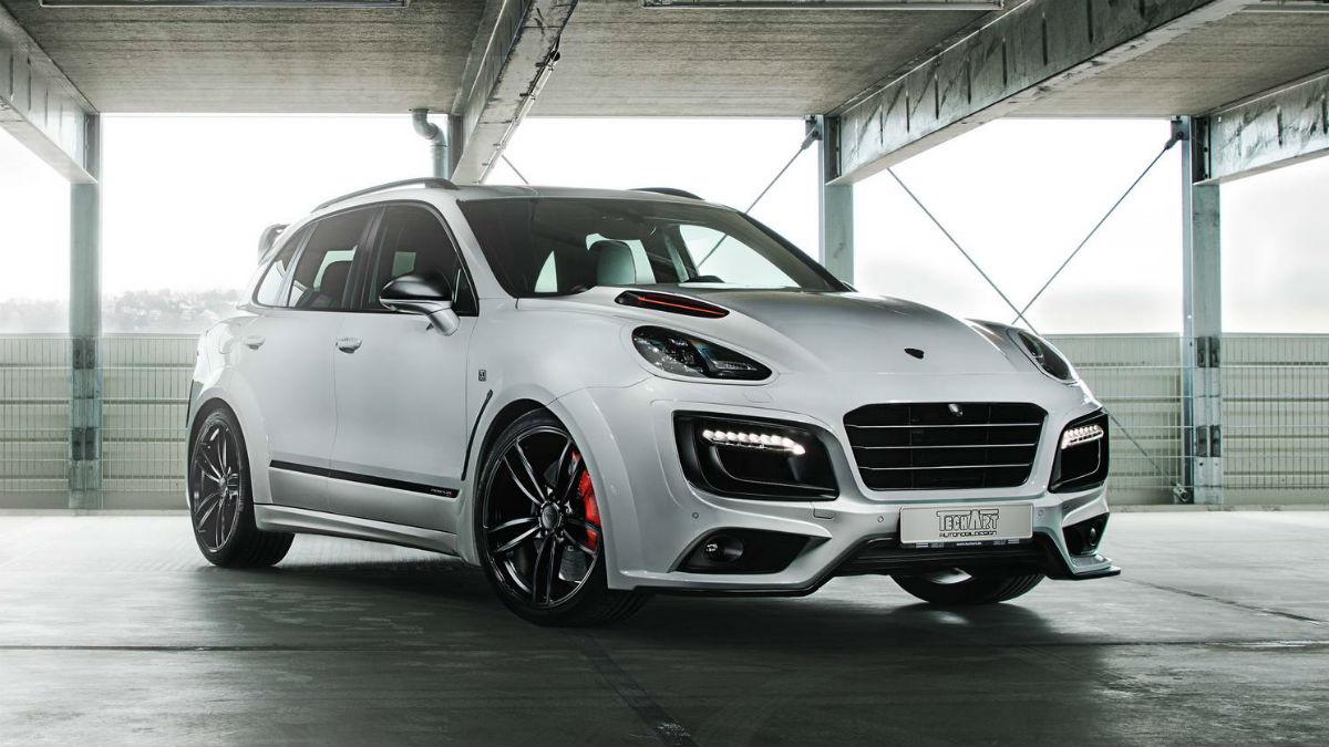 El nuevo Techart Magnum Sport Edition 30 years es en realidad un Porsche Cayenne 'maquillado' en todos los sentidos.