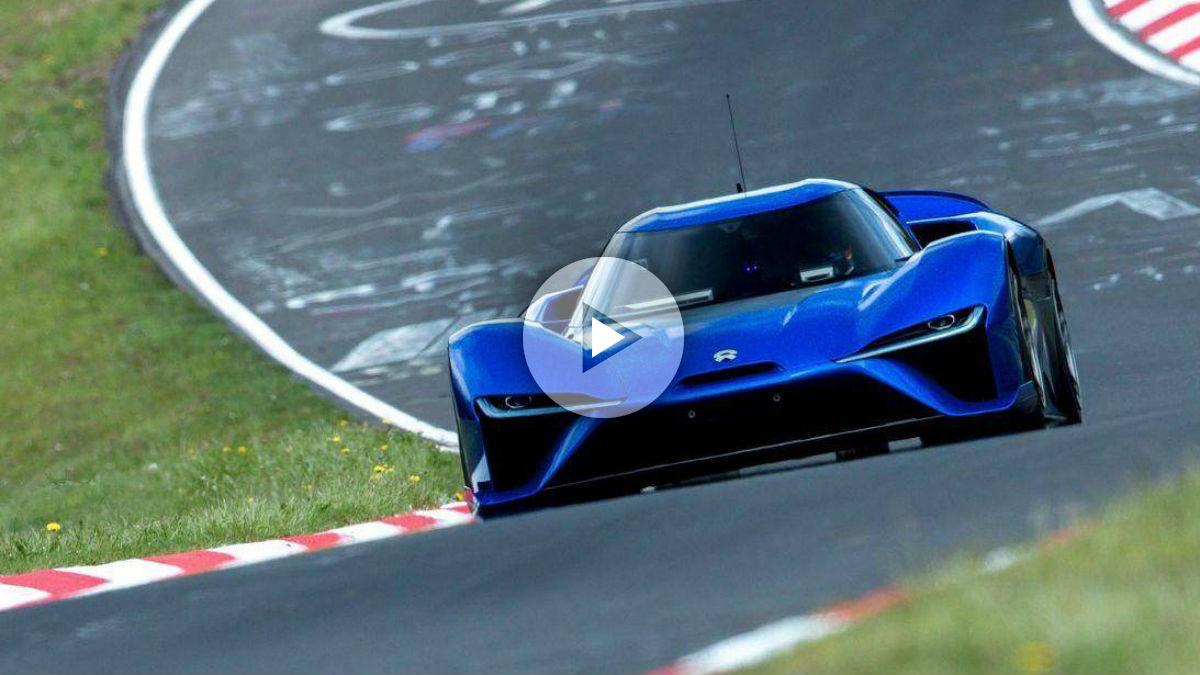 El NIO EP 9, con sus 1.360 CV de potencia, se ha convertido por derecho propio en el coche de calle más rápido de la historia en Nürburgring… de momento.