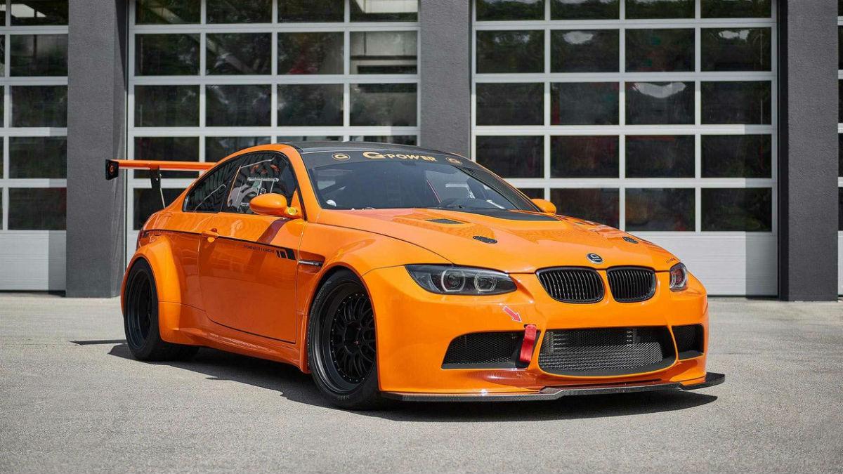 El BMW M3 GT2 S Hurricane es la última preparación de G-Power, y parte de la generación E92 del famoso deportivo alemán.