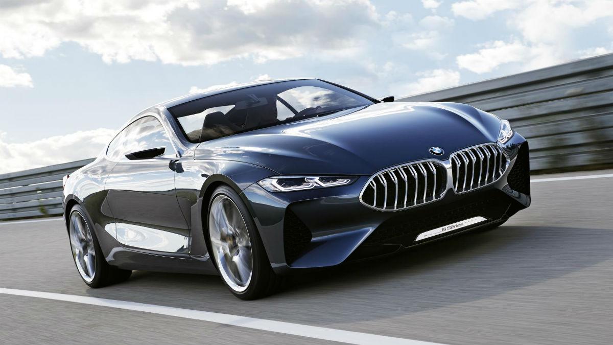 BMW ha presentado el nuevo Serie 8 Concept, un brutal prototipo que anticipa el próximo gran lanzamiento de la marca alemana, previsto para 2018.