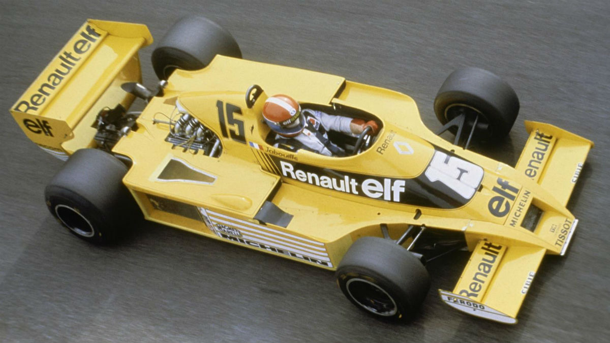 Renault celebra los 40 años de su debut en la Fórmula 1, una competición que ha elevado a los altares a la marca gala.
