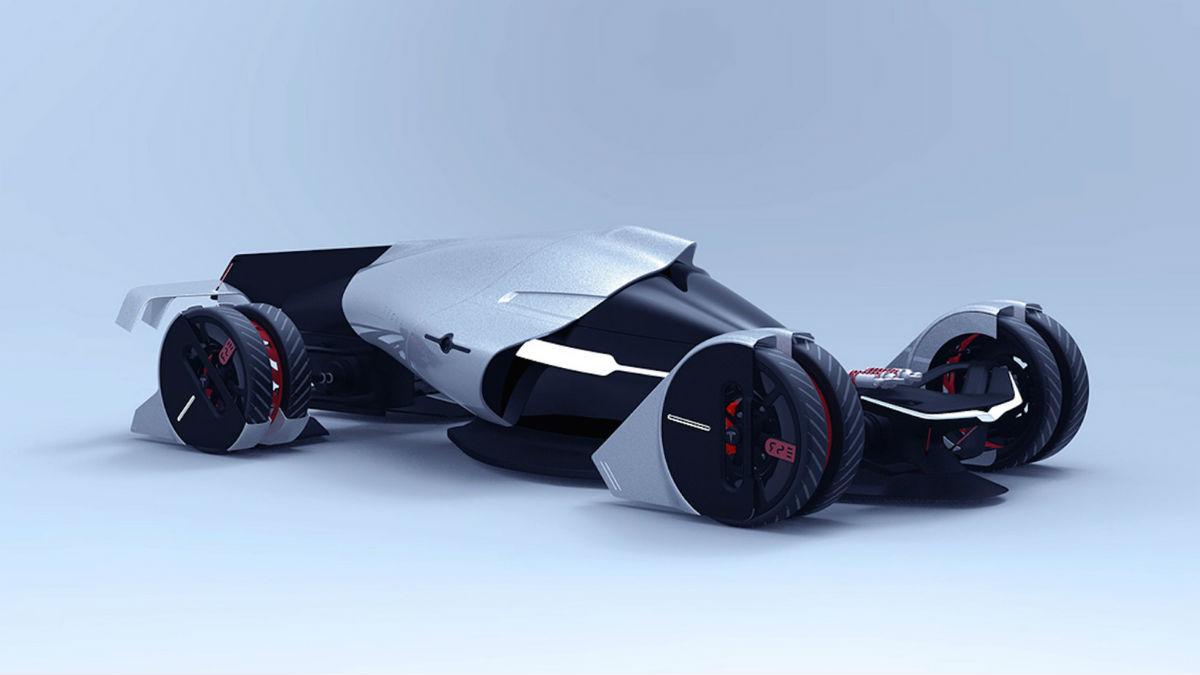 El Tesla T1 Concept ha sido ideado en España y tiene como objetivo participar en las 24 horas de Le Mans del año 2030.
