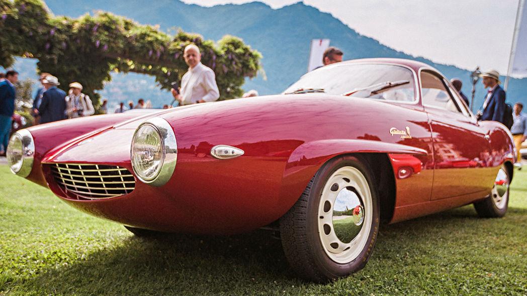 El Alfa Romeo Giulietta SS Prototipo ha sido galardonado con el premio Best of Show en el Concorso d'Eleganza Villa d'Este 2017.