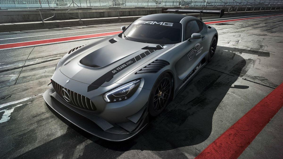 El nuevo Mercedes-AMG GT3 Edition 50 es una de las creaciones más exclusivas de la marca germana, pues solamente se fabricarán cinco unidades.