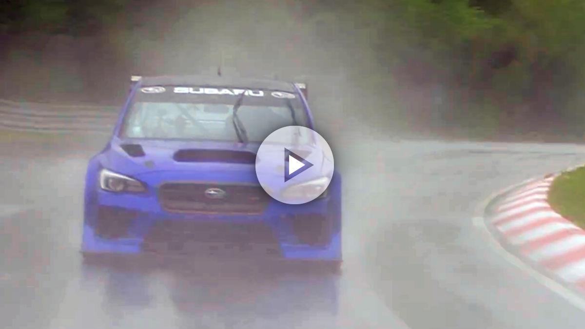 Uno de los Subaru WRX STI más potentes y radicales jamás creados tratará de batir próximamente el récord de vuelta rápida del mítico circuito de Nürburgring.