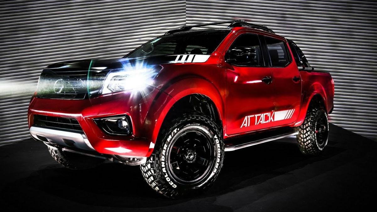 La versión más extrema de nuestro Nissan Navara llega desde Buenos Aires, y responde al nombre de Frontier Attack Concept.