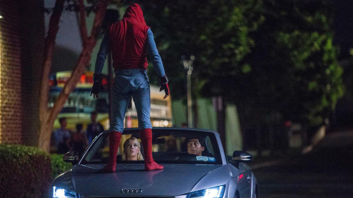 La nueva película de Spiderman tendrá una aliciente importante para los aficionados a los coches, y es que será en ella donde se vea por primera vez al nuevo Audi A8.