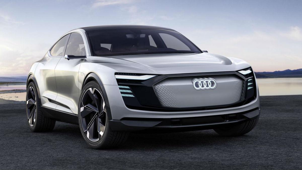 El Audi e-tron Sportback llega en 2019, y será el segundo vehículo totalmente eléctrico que fabrique la marca de los cuatro aros.