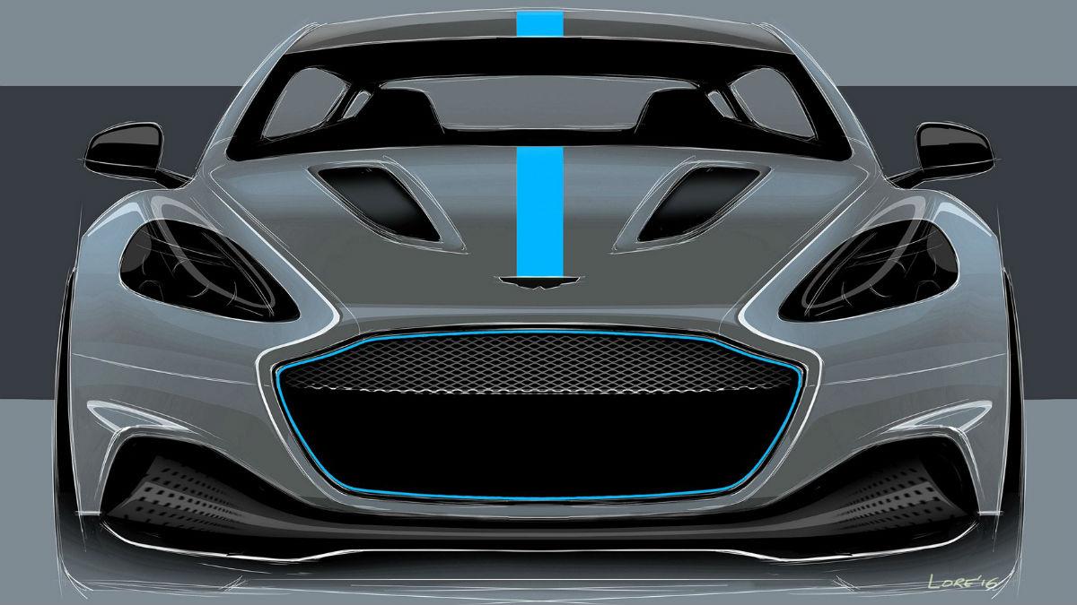 El nuevo Aston Martin RapidE está confirmado para 2019, y será la primera experiencia eléctrica de la marca.