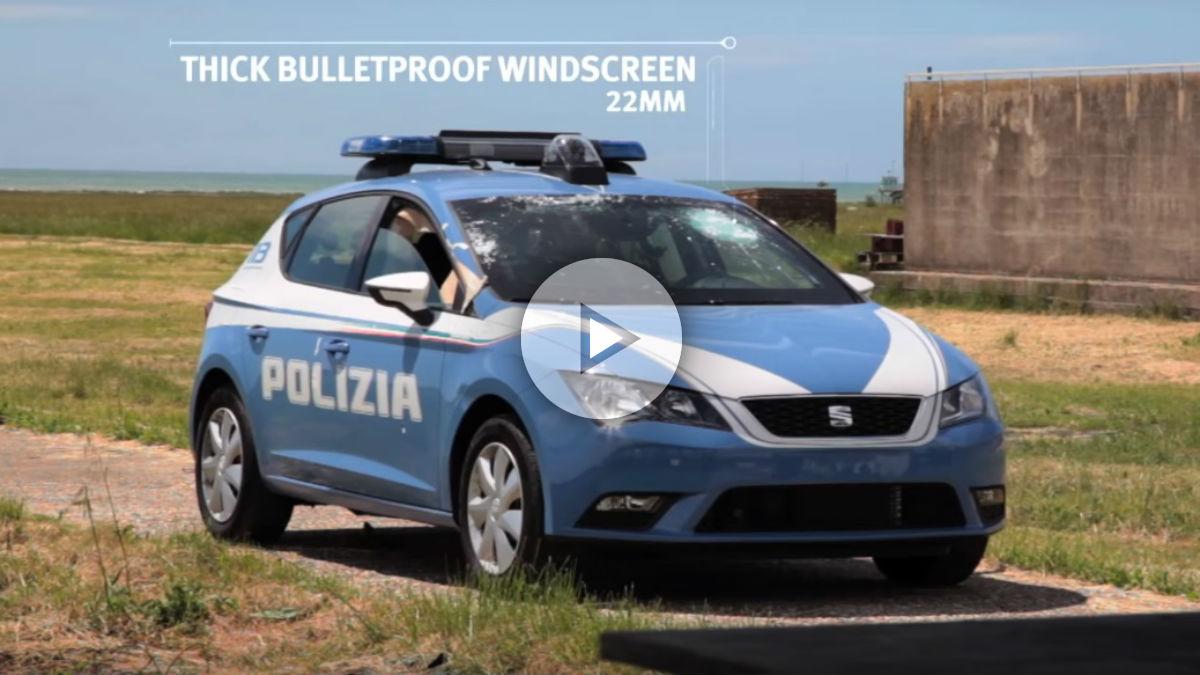 El Seat León de la policía italiana sigue un interesante proceso a la hora de ser blindado que podemos ver al detalle en el vídeo que te ofrecemos.