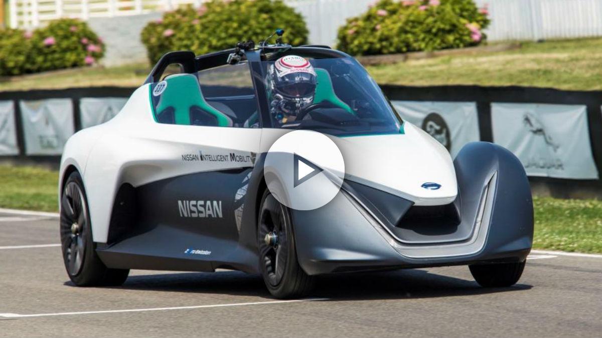 El Nissan BladeGlider supone la culminación de setenta años de historia eléctrica para la marca japonesa.