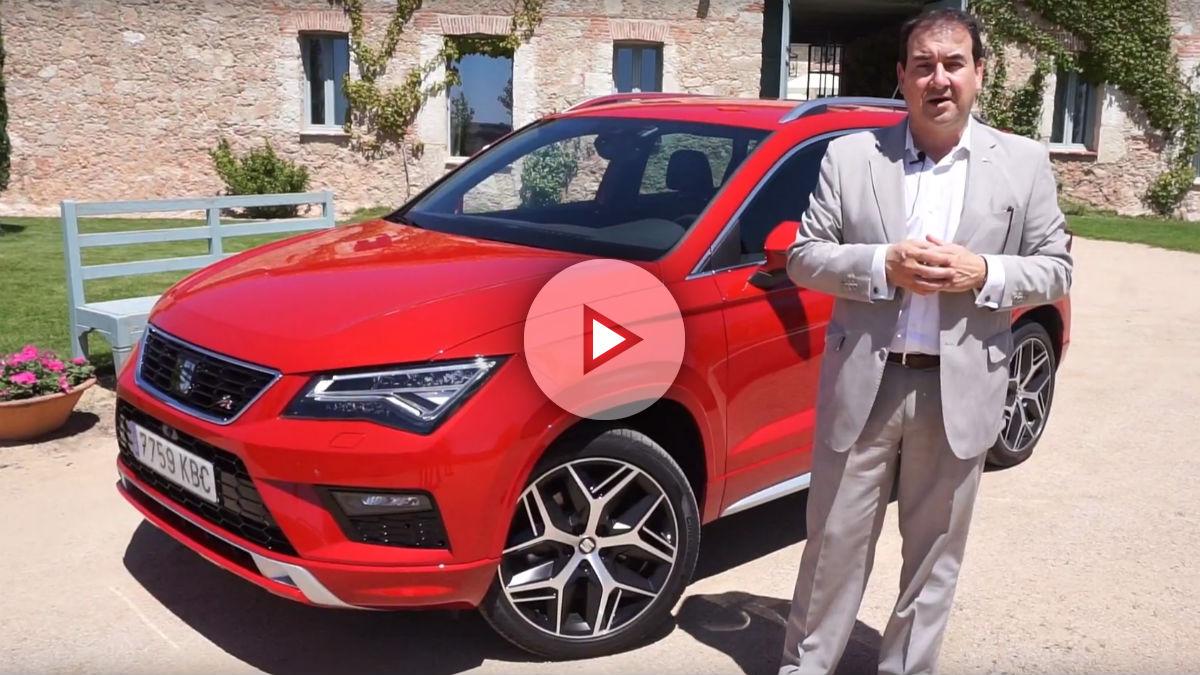 Fernando Salvador nos cuenta todos los secretos del nuevo Seat Ateca FR, la variante más deportiva del SUV español.