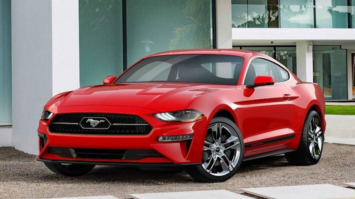 El nuevo Pony Package para el Ford Mustang le aporta al 'muscle car' americano un más que interesante toque retro.