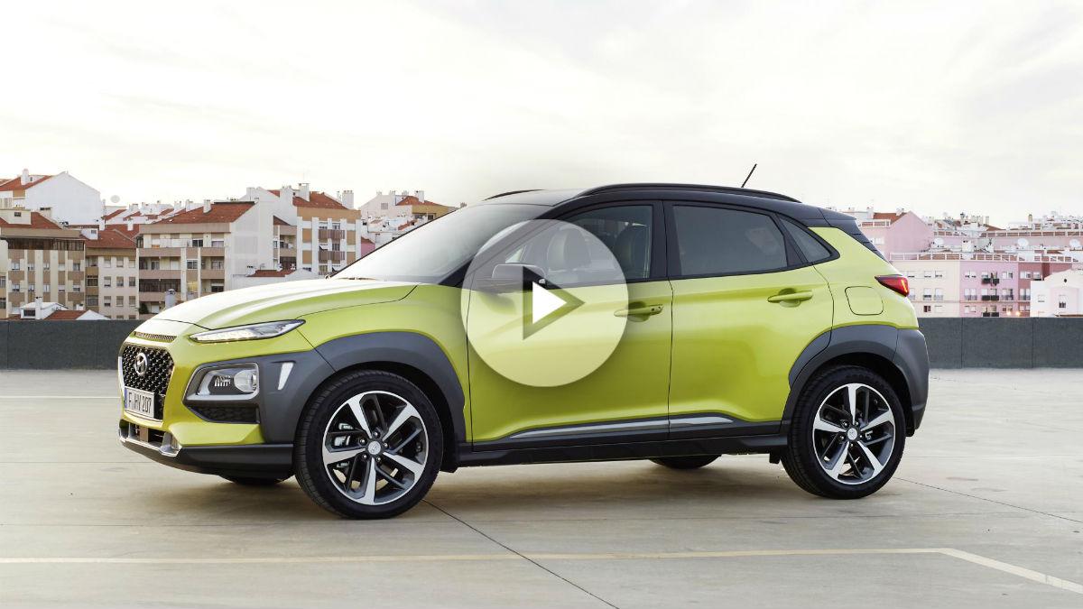 El nuevo Hyundai Kona, que llega al mercado después del verano, descubre todos sus secretos en un intenso vídeo facilitado por la marca coreana.