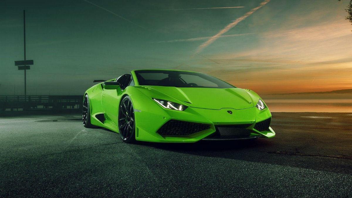 Esta es la espectacular creación de Novitec sobre el Lamborghini Huracan