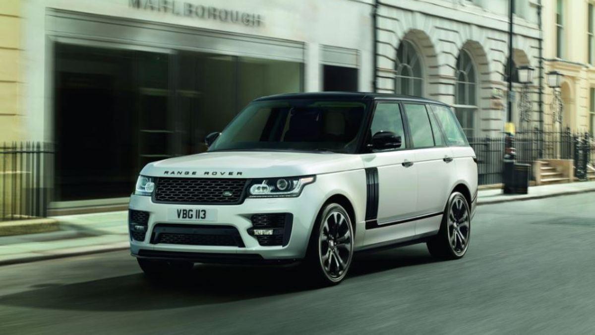 Un toque de deportividad para el Range Rover.