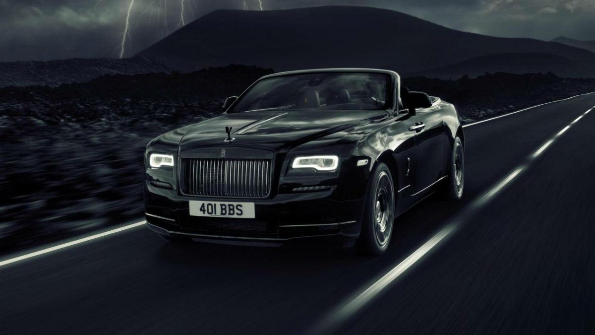 Llega el Rolls-Royce Dawn Black Badge