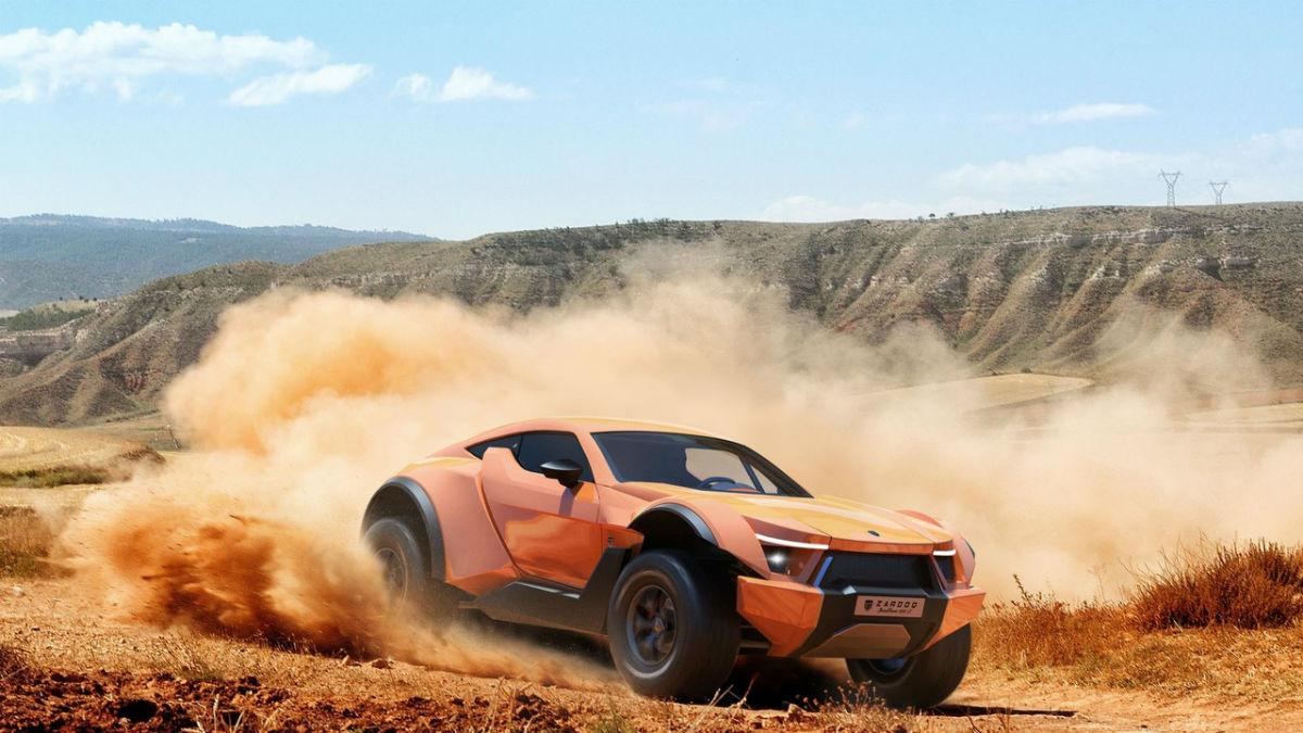 El Zarooq Sand Racer es un todocamino muy radical.