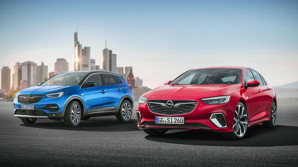 Opel se presenta en el Salón de Frankfurt con cuatro interesantes novedades, entre las que destacan el Grandland X y el Insignia GSi.