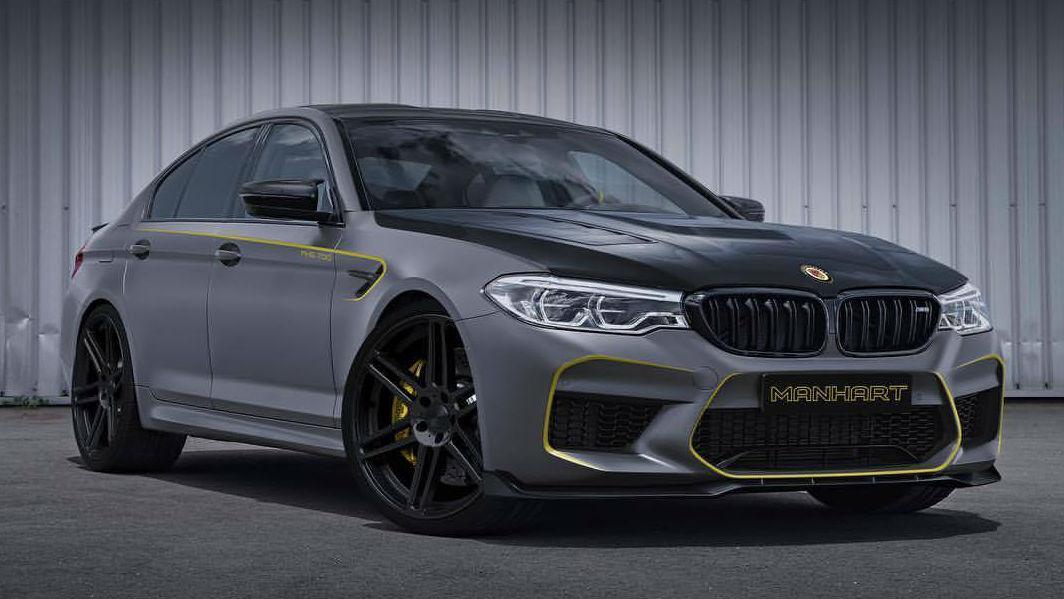 El preparador alemán Manhart anticipa fuertes emociones con su futura transformación del recientemente presentado BMW M5.