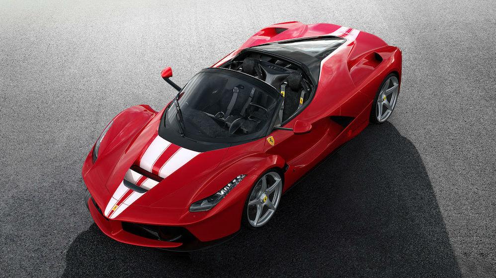 Ferrari ha anunciado que, con motivo de su 70 aniversario, subastará con fines benéficos una edición especial y única del espectacular LaFerrari Aperta.