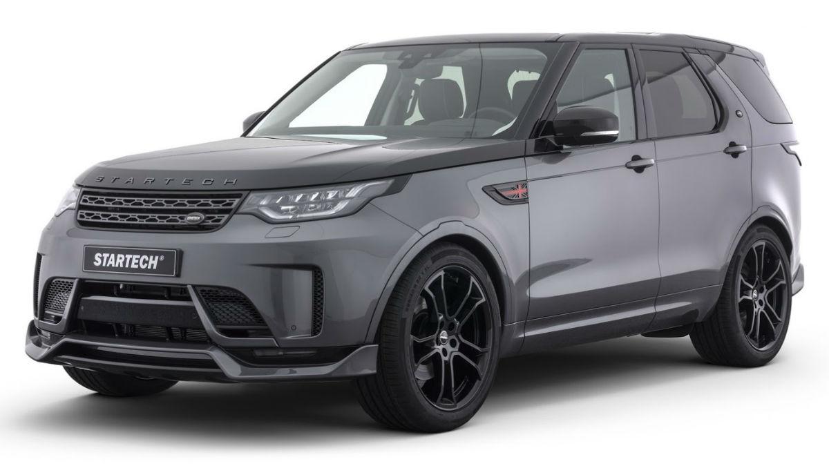 El Land Rover Discovery preparado por Startech cambia su imagen por la de un todocamino mucho más agresivo.