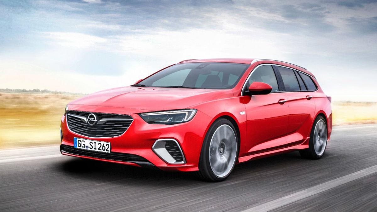 El Salón de Frankfurt es testigo del nacimiento del Opel Insignia Sports Tourer GSi, que une sus deportivas prestaciones a todas las comodidades que ha de tener un familiar.