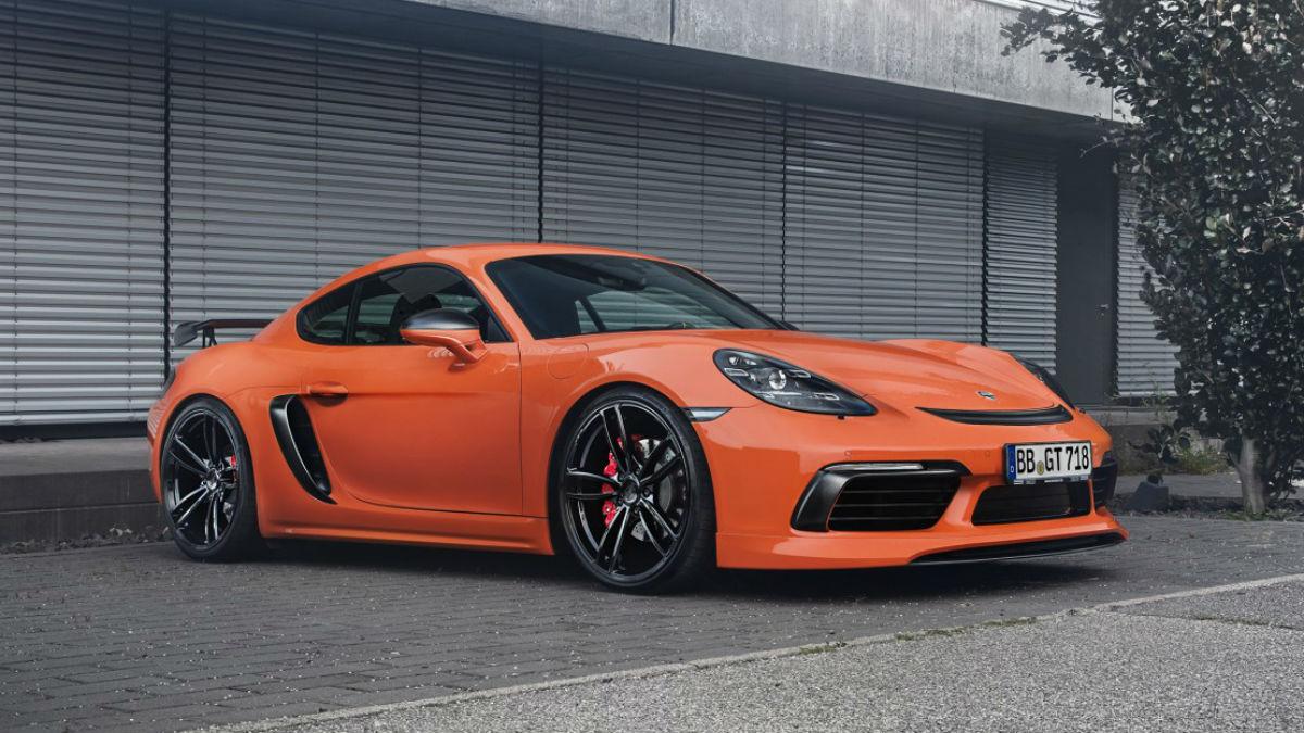 Los Porsche 718 Boxster y Cayman elevan su nivel de espectacularidad tras pasar por los talleres de TechArt.