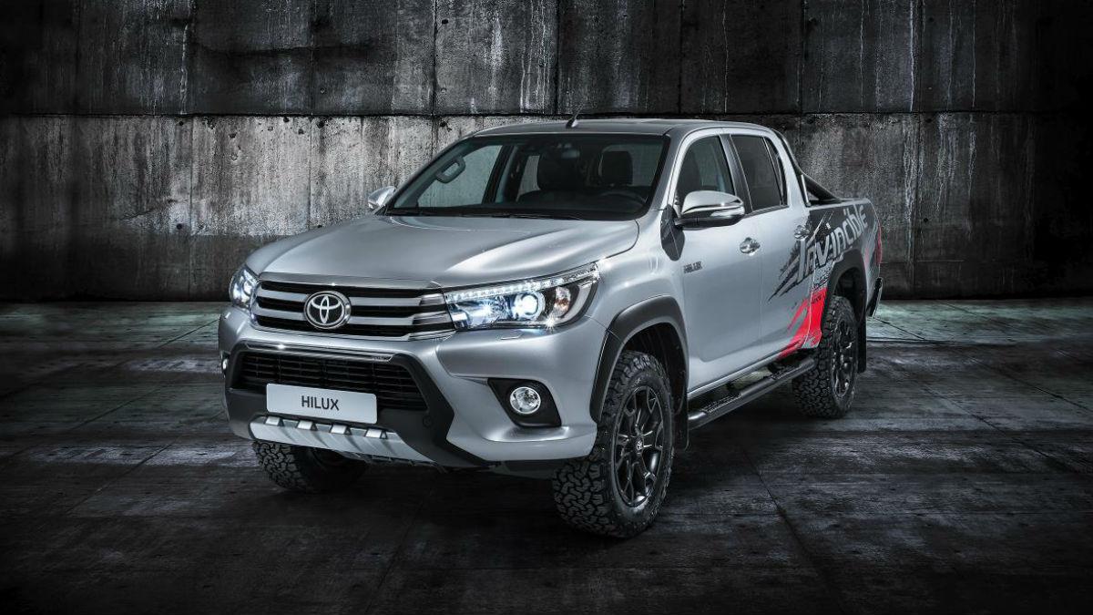 Toyota ha presentado en Frankfurt un 'show car' basado en el Hilux para celebrar los buenos resultados de ventas que lleva obteniendo desde hace medio siglo.