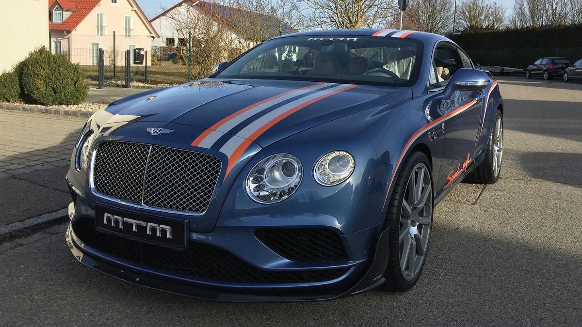MTM se ha puesto manos a la obra con el Bentley Continental GT para crear una bestia de nada más y nada menos que 772 CV de potencia.