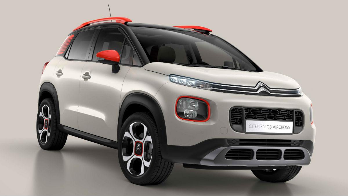 El nuevo Citroën C3 Aircross, cuya aceptación en Europa está superando las expectativas, ha sido el último modelo en obtener las cinco estrellas de EuroNCAP.