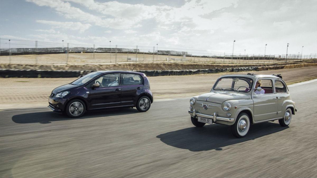 Sesenta años han pasado desde que se lanzase el Seat 600, tiempo más que suficiente para que los vehículos hayan evolucionado más de lo que cabría pensar.