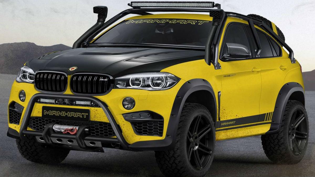 El nuevo Manhart MHX6 Dirt² es una de las transformaciones más agresivas y arriesgadas que jamás se hayan hecho sobre un BMW X6