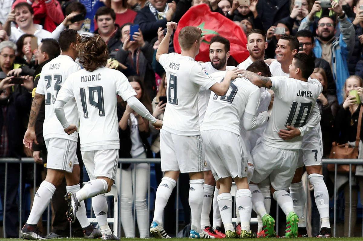 El Real Madrid presentará novedades en la alineación. (Getty)