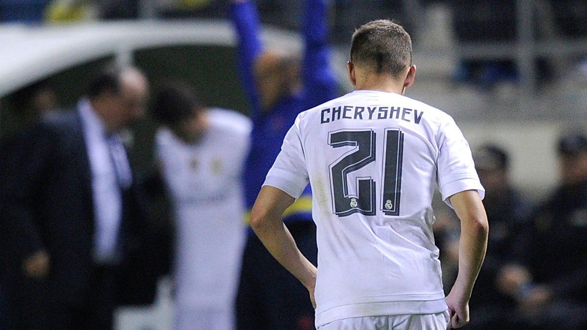 Cheryshev es sustituido en Cádiz la pasada temporada.