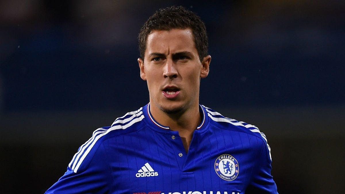 Eden Hazard, en un partido con el Chelsea. (Getty)