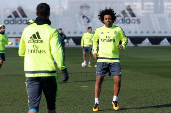 Marcelo estará ante la Roma. (Imagen:realmadrid.com)