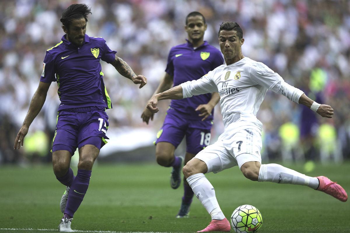 El Real Madrid no pudo ganar al Málaga en el Bernabéu. (Getty)