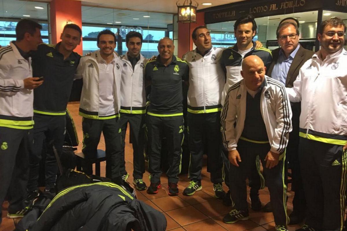Roberto Carlos viajó con el Juvenil A a Suecia.