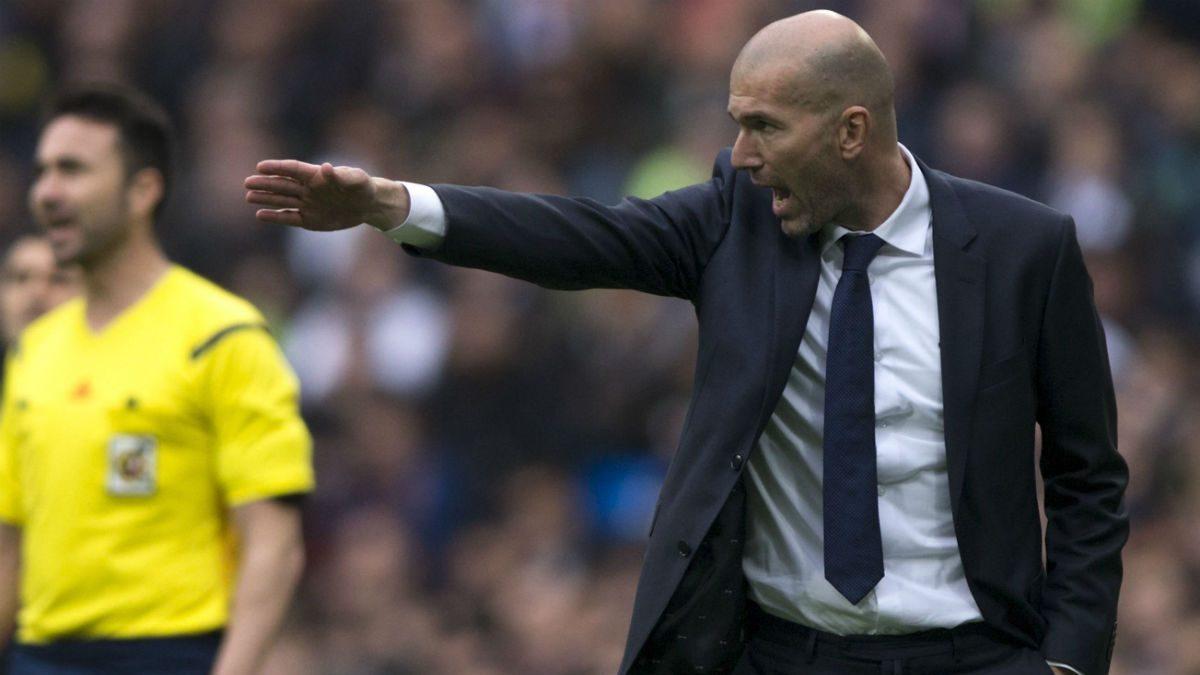 Zidane debutó en Champions League contra la Roma. (Getty)