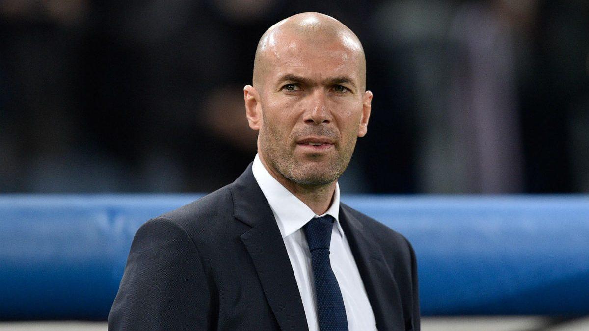 Zidane, en su debut en la Champions como entrenador. (Getty)