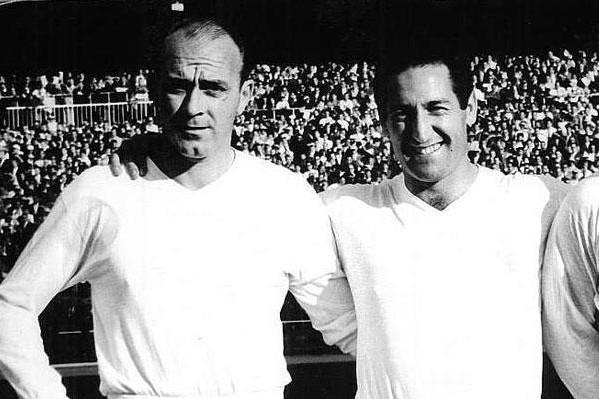 Di Stéfano, Gento y Puskas
