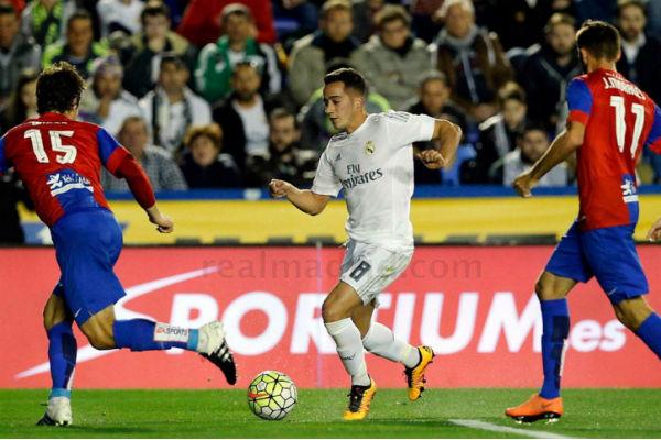 Lucas Vázquez realizó un gran partido ante el Levante. (Imagen: realmadrid.com)
