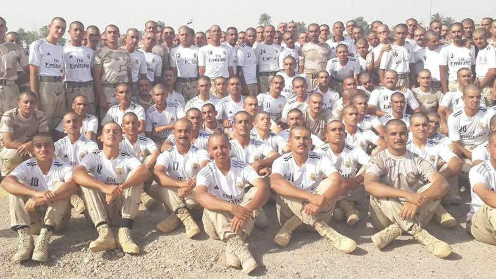 Las fuerzas armadas de Irak agradecen a Florentino su mensaje de apoyo.
