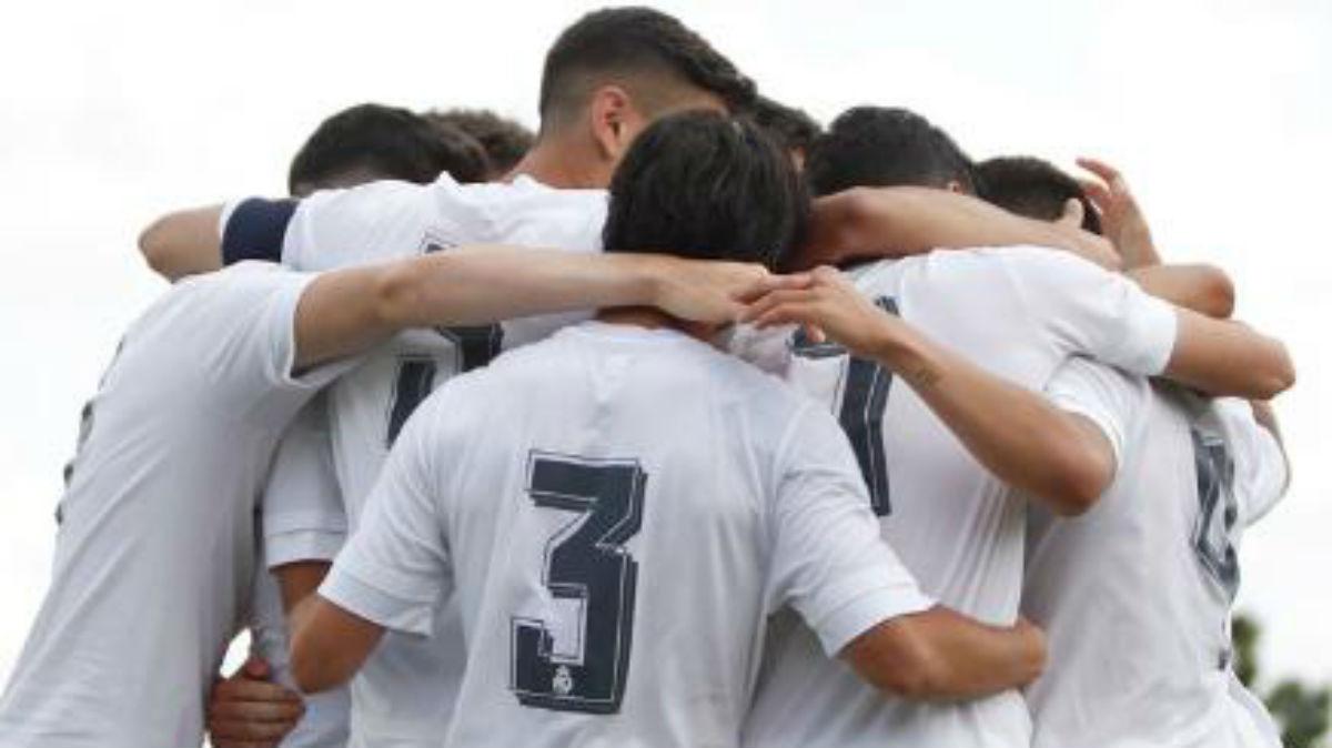 El Juvenil A celebra el pase a las semifinales de la Copa del Rey. (Realmadrid.com)